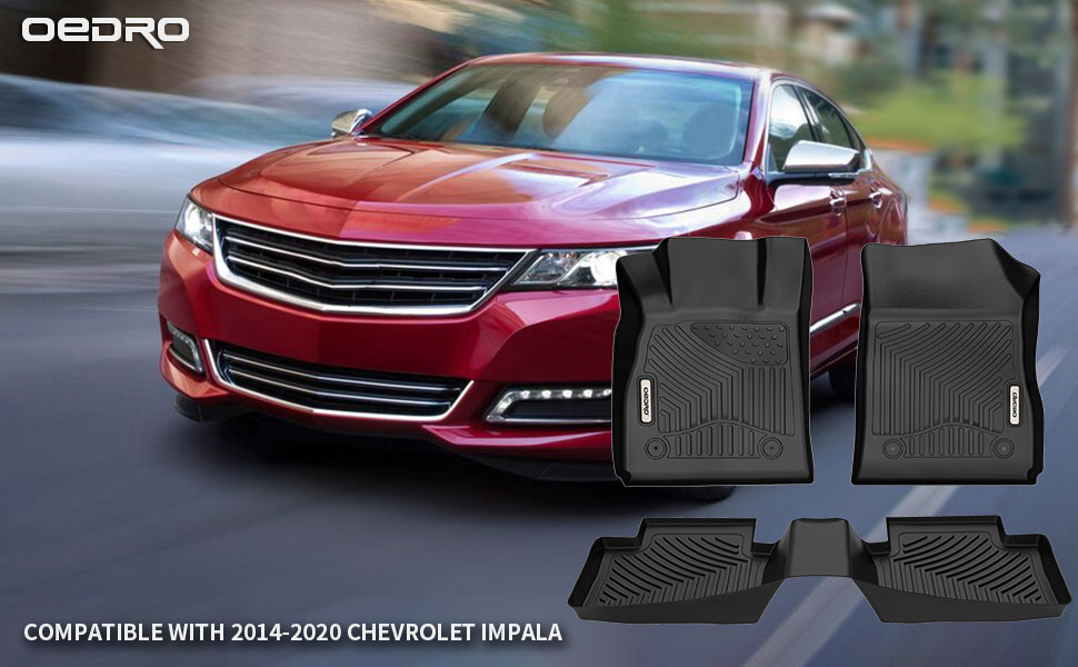 OEDRO Floor Mats Compatible with 2014-2020 Chevrolet Impala