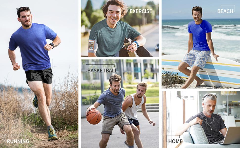 men shirts workout
