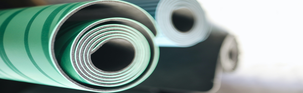 yoga mat foam roller white wall mount storage rack towel rack thin yoga mat metal shelving unit