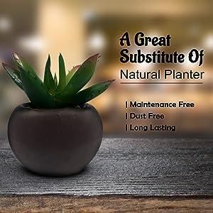 ceramic plant pot decorative artificial flora artificial plants indoor bedroom accessories men