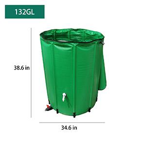132 Gallon rain bucket