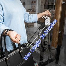 Stretchable Key Fob Hook