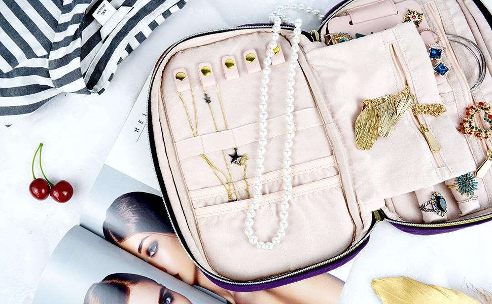 Jewelry Travel Holder Case