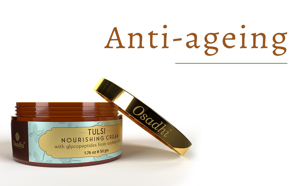 Anti ageing face cream with collagen for woman and men