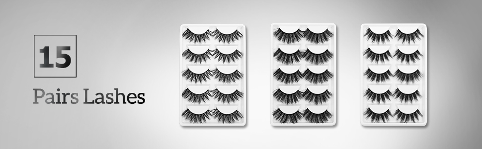 3D lashes pack