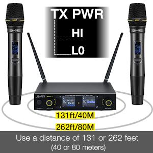 Long Distance Use Wireless Mic