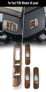 Window Lift Switch Panel Cover Trim for 2015 2016 2017 2018 Ford F150