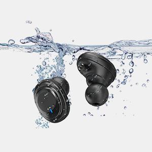 Auriculares inal/ámbricos Bluetooth 5.0 con auriculares est/éreo para deportes auriculares inal/ámbricos con funda de carga y pantalla LCD Faraone4w