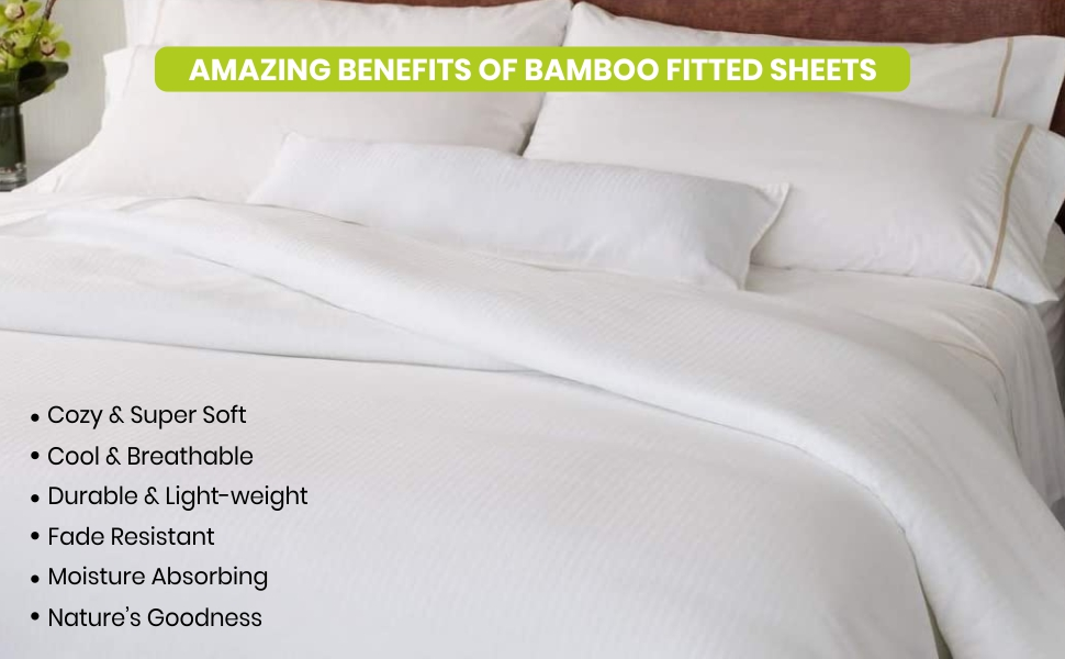 fitted sheets bamboo