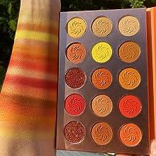 Eyeshadow Matte Glitter Eye Shadow Palette Waterproof Long Lasting Pigmented Eyeshadow Powder