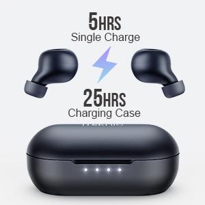long battery headphones