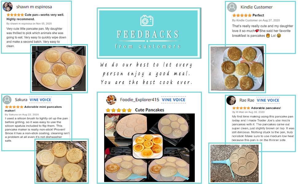 Pancake Pan customer feedbacks