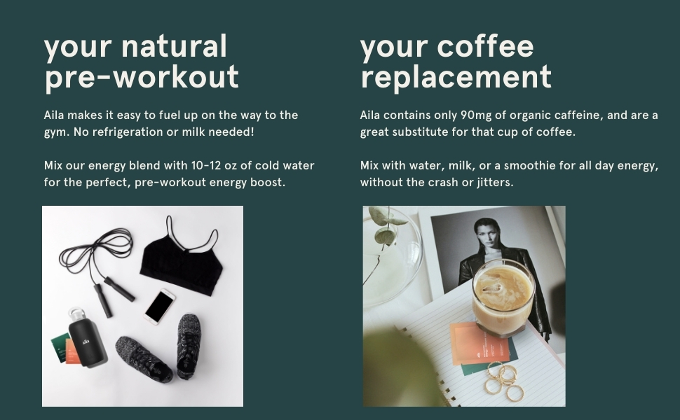 coffee and energy drink replacement