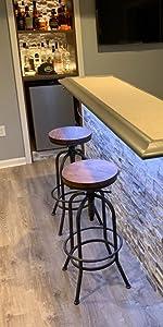 adjustable kitchen stools
