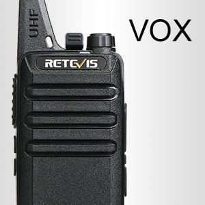2 way radios with VOX handsfree function