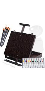 23 PCS Easel Painting Set