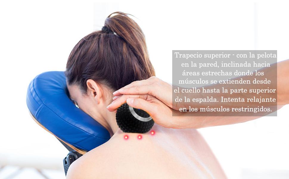 Eléctrico Bola de Masaje Pelota Massage Ball Automasaje Eléctrico ...