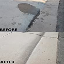 Before amp; After Driveway