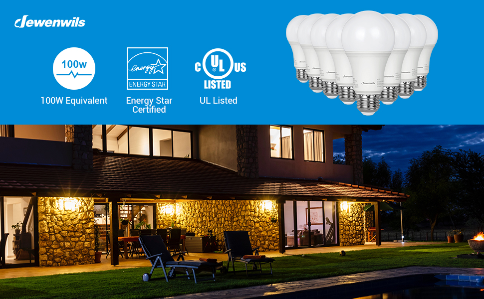 100W Replacement 3000K LED Bulb