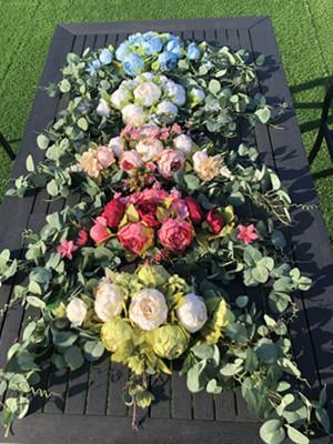 wedding arch flowers
