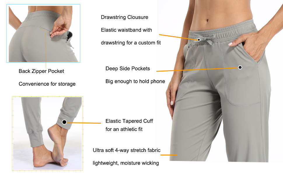 Active running joggers for women