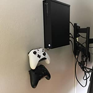 game controller wall mount