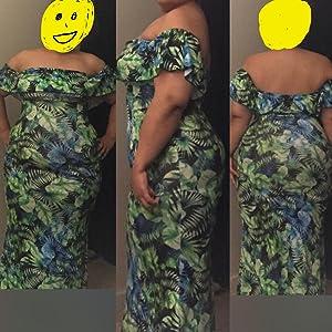 off shoulder maxi dresses for women