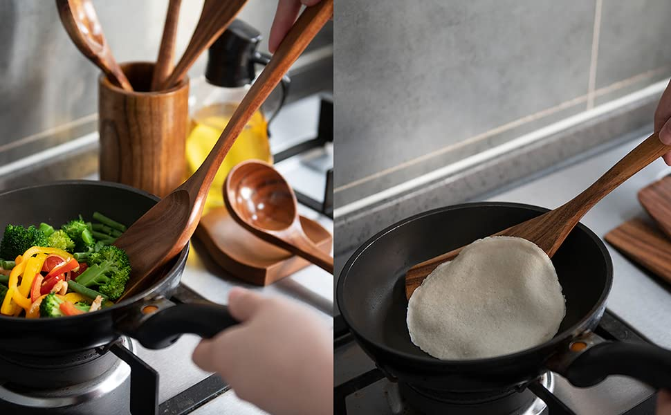 quality, wooden pieces, tools, wood cooking utensil set, kitchen wooden utensils, spoon holder