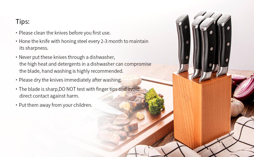 dinner knives