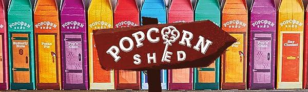 Popcorn Shed range