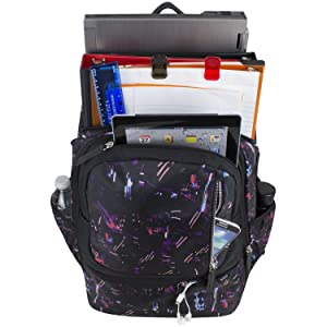 """BODHI Athleisure Expandable Campus Backpack, 18"""""""