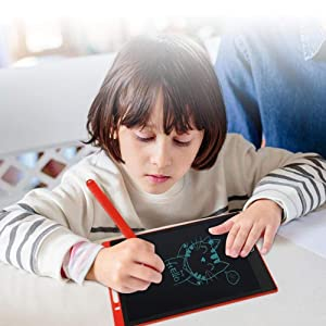 "LCD Writing Tablet,Electronic Writing &Drawing Board Doodle Board, 8.5"" Handwriting Paper Drawing"