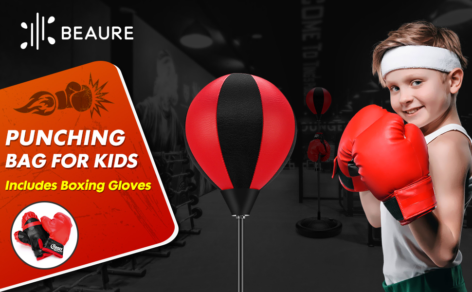 Benefits of Punching Bag for Kids