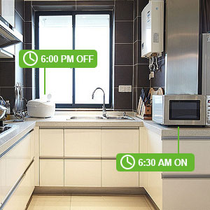 Enchufe Inteligente Wifi - ZKTeco P200 - Inalámbrico Smart Mini Compatible con Alexa &Google Asistente, no se requiere Hub, con Control Remoto.: Amazon.es: Bricolaje y herramientas