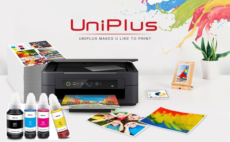 Uniplus Kompatibel Für 102 104 Tintenflasche Dye Tinte Computer Zubehör