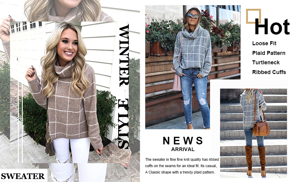 women gray-plaid sweater shirt women apricot-tops long sleeve woman patch sweatshirts for colorblock