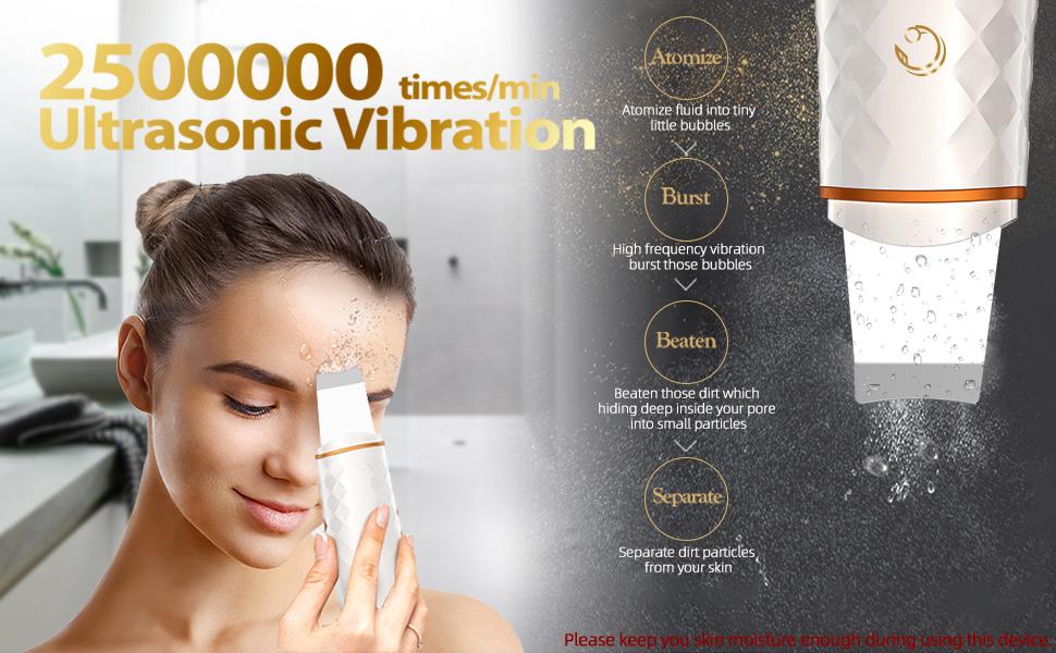 scrubber ultrasonic vibration