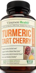 Turmeric Curcumin Tart Cherry Celery Seed