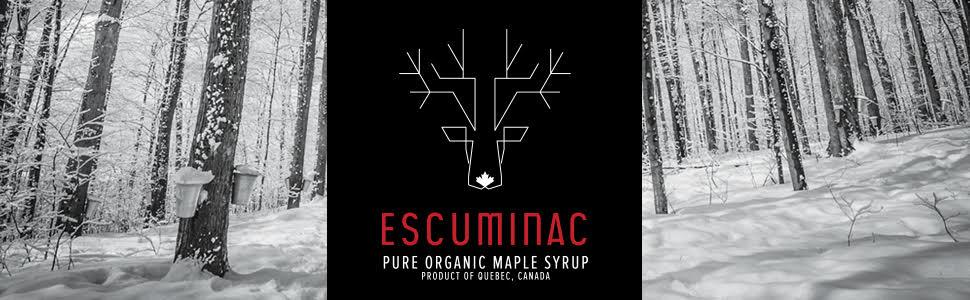 Escuminac maple syrup 4L