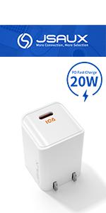 mini usb c 20w charger
