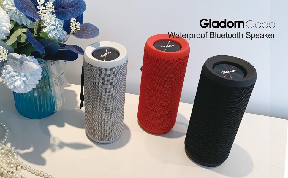 Gladorn Geae waterproof bluetooth speaker