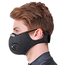 QueenNa avec couvercle de visage de filtre pour v/élo de course de v/élo de travail du bois de moto