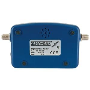 SCHWAIGER -5170- SAT-Finder digital | reconocimiento de satélites | buscador de satélites | brújula y salida de sonido | dispositivo de medición para ...
