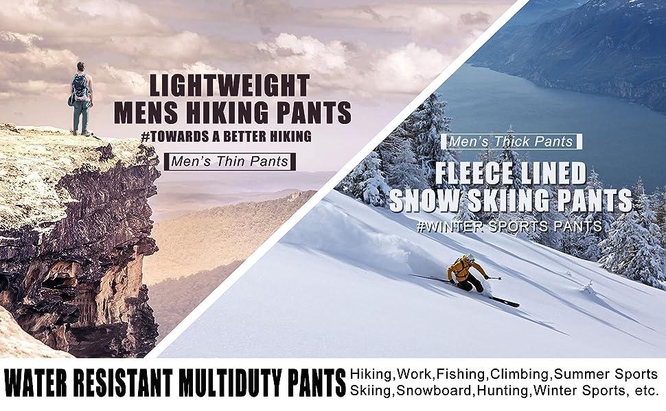 work pants for men hiking pants for men fishing pants for men