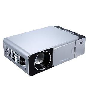 Gigaglitz T6 HD LED Projector Portable Mini Video for Home Theater Game Movie Cinema