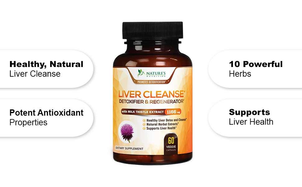 healthy natural liver cleanse antioxidant detox liver health