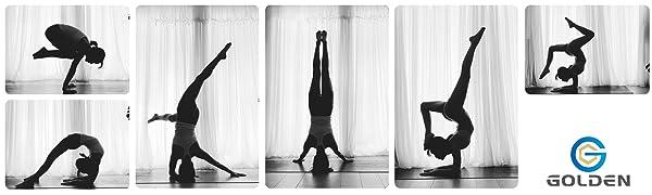 Yogamat, antislip, yogamat, kurk, yogamat, tas, yogamat, natuurrubber, yogamat, groen