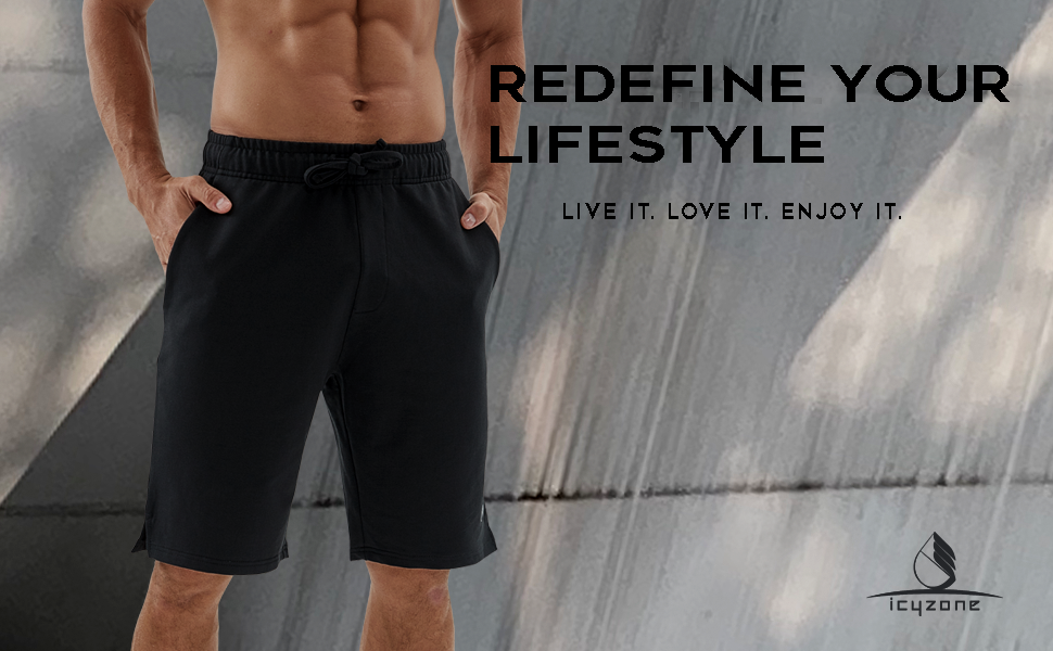icyzone Running Shorts for Men
