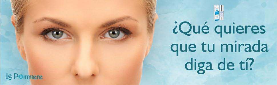 Serum contorno ojos 30ml con ácido hialurónico y colágeno. Crema Anti edad con pantenol vitamina B5 para una piel suave y tersa. Antiarrugas ...