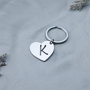 initial keychain